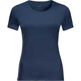 Jack Wolfskin Tech T-shirt Damer, blå